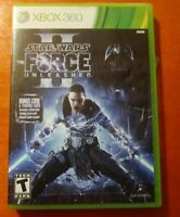 Star Wars The Force Unleashed II Microsoft Xbox 360 LucasArts Lucasfilm Euphoria