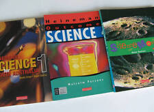 Heinemann Science Books x 3