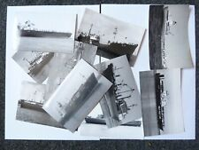 More details for 100 black and white postcard photographs of ussr merchant ships. all types.
