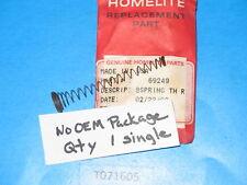 Genuine! HOMELITE 69249 spring throttle return XL2 Super 2, XL auto chainsaw NOS