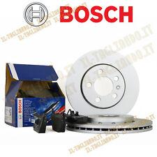 Kit dischi freno Fiat Panda 312 dal 2012 1.2 51 kw + pastiglie BOSCH Anteriori