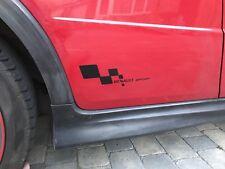 Renault Sport Flag Premium Vinyl Sticker Side Panel Graphic Clio RS 182 Sport