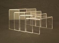 Set of 4 rises Acrylic Risers