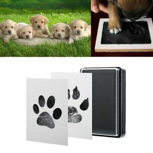 Baby Handprint Footprints Ink Pads Kits Pet Cat Dog Paw Print Souvenir Non-Toxic