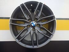 N.04 CERCHI IN LEGA RAGGIO 18 MSW 24 PER BMW SERIE 2 SERIE 3 SERIE 4 X 1 X 3