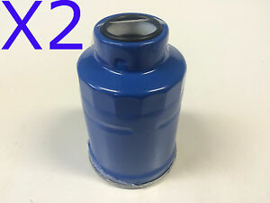 2X Fuel Filter fits Z252X TOYOTA DYNA DIESEL 4CYL LY61R / LY150R 2.8L 1988-1992