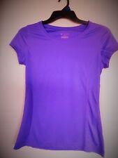 Teck Gear Purple Short Sleeve Athletic Top Sz S