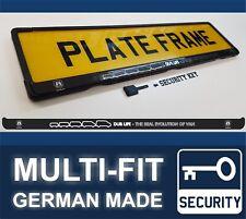 Evolution of VAN DubLife VW Transporter T5 Sticker Number Plate Holder Frame