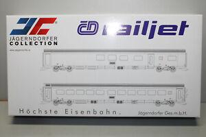 Jägerndorfer Collection 70211 Wagen-Set Railjet 2-teilig Spur H0 OVP