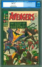 AVENGERS #32  CGC  9.6 NM+  NEAR PERFECT COPY!  NICE OFF WHITE TO WHITE PAGES!