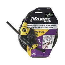 Master Lock Python 1800x10mm Verstellbar Kabelschloss für Fahrräder oder Ladung