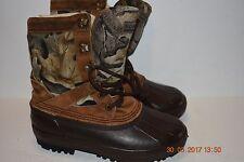 Men Sorel Camo Boot Size 7 Made In Canada