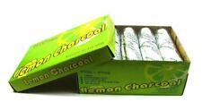 20 Rolls Lemon Charcoal 100 Pcs Tabs Coal Shisha Hookah Without Hole