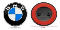 New Front Hood Rear Trunk Adhesive Logo Emblem 82mm for BMW F10 F11 F07 E63