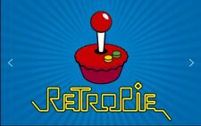 RETROPIE/RECALBOX Raspberry PI 3 e 2. 54 Emulatori 128 GB, 30.000 giochi, Roms