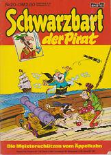 Schwarzbart der Pirat   Nr.20 /  Bastei Verlag