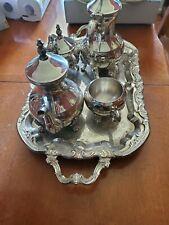International Silver Company 5 Piece Silver Plated Coffee/Tea Set  (Brand New)