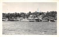 <A14> MAINE Me Real Photo RPPC Postcard 1956 BAYVILLE Shore Homes