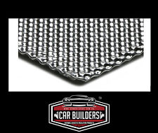 Embossed aluminum heat shield 300mm x 500mm turbo manifold exhaust electrical
