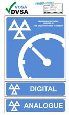 Mot signos | MOT signo | Vosa DVSA | Tacógrafo Digital & Analógico centro signos