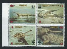 BANGLADESH Sc 340-3a World Wildlife Fund  Gavialis Gangeticus