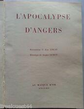 L'Apocalypse d'Angers Jean Lurçat Jacques Levron Au masque d'or 1955