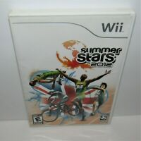 Summer Stars 2012 (Nintendo Wii, 2012) Complete Tested & Working