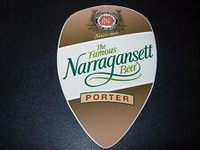 NARRAGANSETT Porter Gansett STICKER decal craft beer brewing brewery