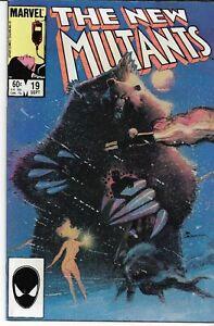 NEW MUTANTS (1983 series) #19 Back Issue Very Fine Minus (7.0)
