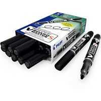 Pilot Begreen V-Board Master Whiteboard Marker – Extra Fine – Black - Pack of 10