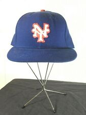 VTG New York Giants Baseball Hat MLB Roman Fitted Youth Small 6 3/4 Cap