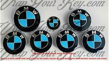 BLACK & BABY BLUE M SPORT BMW Badge Emblem Overlay HOOD TRUNK RIMS FITS ALL BMW
