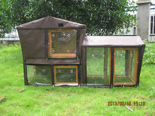 BUNNY BUSINESS GROVE HUTCH COVER COVERS TO FIT THE GROVE HUTCH & RUN RABBIT