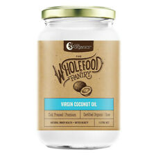 3 x 1L Nutra Organics Wholefood Pantry Organic Cold Pressed Virgin Coconut Oil