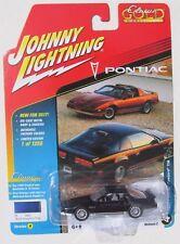 JOHNNY LIGHTNING 2017 CLASSIC GOLD 1986 PONTIAC FIREBIRD TRANS AM #4 1/1,256 Blk