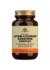 Solgar Lutein Lycopene Carotene Complex - 30 Vegicaps
