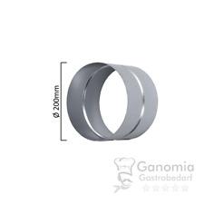 Muffe / Verbinder (Ø 200 mm bis 355 mm) - für Lüftungsrohre