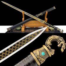 NiShuiHan Cold-blooded Sword Steel Blade Hand Polishing Sharp Battle Ready #1851