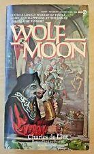 Wolf Moon by Charles de Lint (Signet Fantasy paperback novel, 1st printing)
