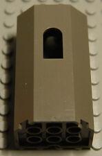Lego Castle Wall Dark Gray Panel 3 x 4 x 6 with Window NEW