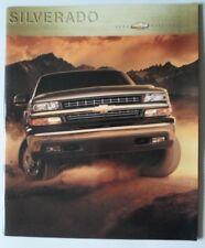 CHEVROLET Silverado Trucks 2000 USA Mkt glossy prestige brochure - STD LS LT