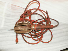 vintage old industrial trouble treble light metal cage part steam punk project