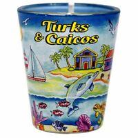 Turks & Caicos Scene Shot Glass