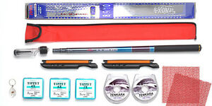 Tenkara Style 10ft rod CS with Furled Tapered leader, Line Winder, Tippet Kit2