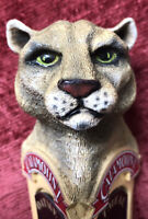 Rare Catamount Oatmeal Stout/Anniversary Ale Beer Tap Handle Mountain Lion Head