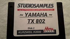 Kurzweil ~ YAMAHA TX802 Programs v2 FOR K2XXX ~ w/V.A.S.T. Programmings!