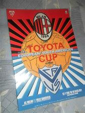 RARE 1994 TOYOTA WORLD CLUB CHAMPIONSHIP AC MILAN V VELEZ SARSFIELD @ TOKYO