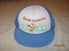 Great America The Flintstones Bam Bam 1987 Vintage Snapback Hat Cap Youth Boys