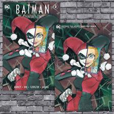 🔥 Batman Adventures Continue #2 Peach Momoko Trade + Minimal Virgin Variant Set