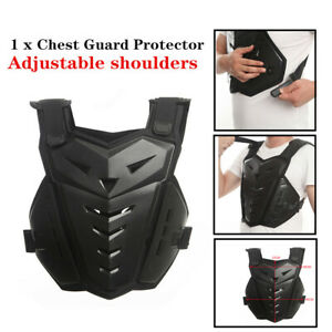 Motorcycle Outdoor Protective Back Chest Vest Guard Deflector Body DropProof Kit